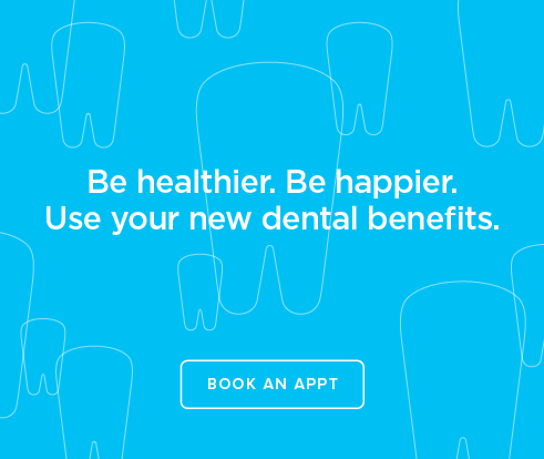 Be Heathier, Be Happier. Use your new dental benefits. - Rocksprings Dental Group